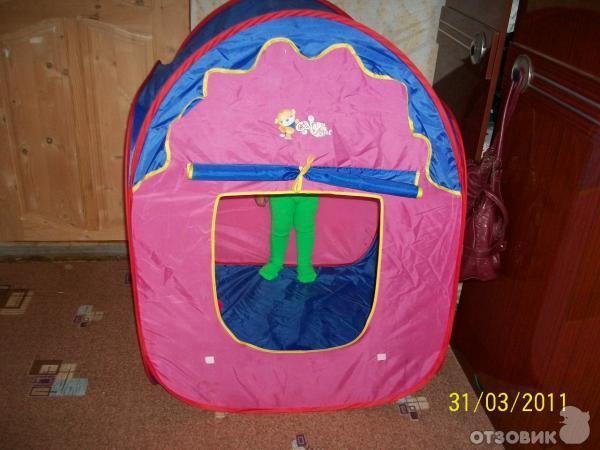 Отзыв: Детская палатка Cary Bear - домик для детей.