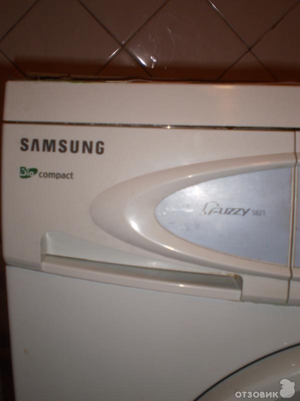 Отзыв: Стиральная машина Samsung S821 - машинка для маленькой семьи.