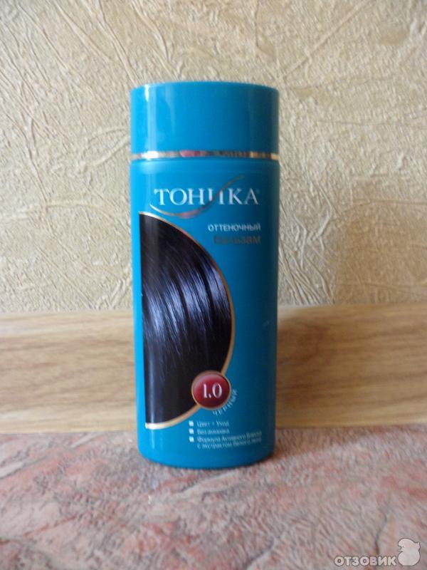 Тоник черный для волос