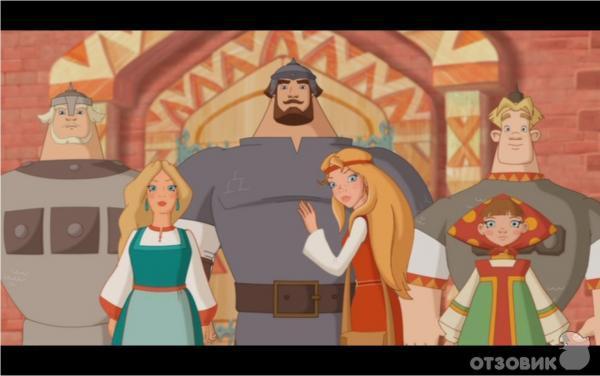 смотреть мультфильм три богатыря и шамаханская царица 2:
