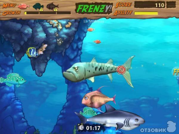 игра где рыбка ест других и растет скачать - фото 9