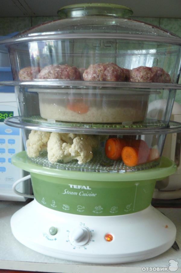 рис в пароварке как готовить с фото