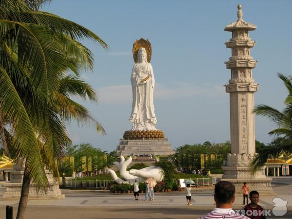 Центр буддизма наньшань (китай, о хайнань) фото