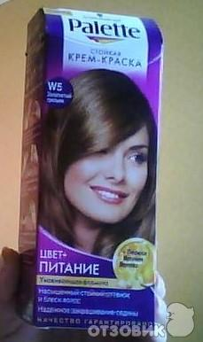 волос золотистый грильяж для и фото краска палет