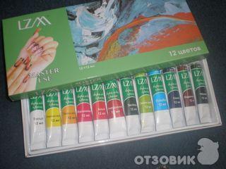 Как выглядят акриловые краски для ногтей 35
