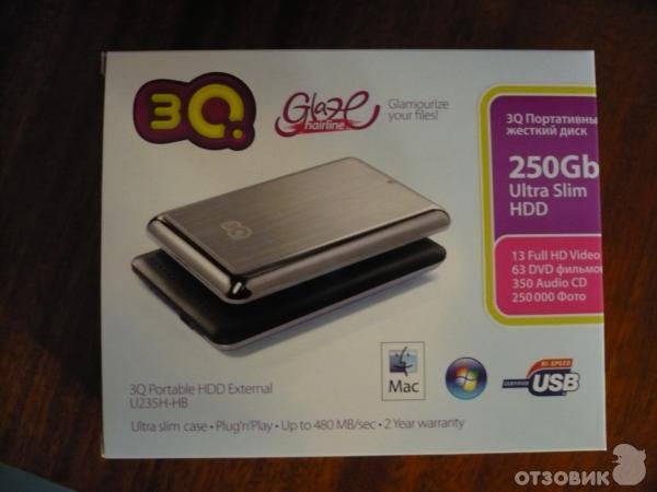 Жесткий диск 3q драйвер внешний