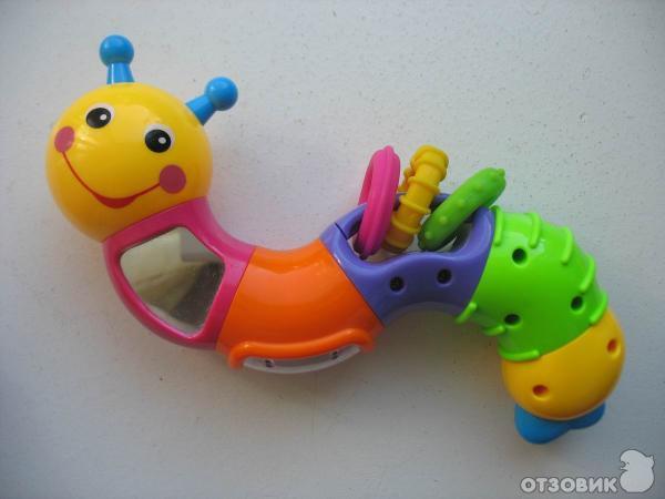 Развивающие игрушки гусеница