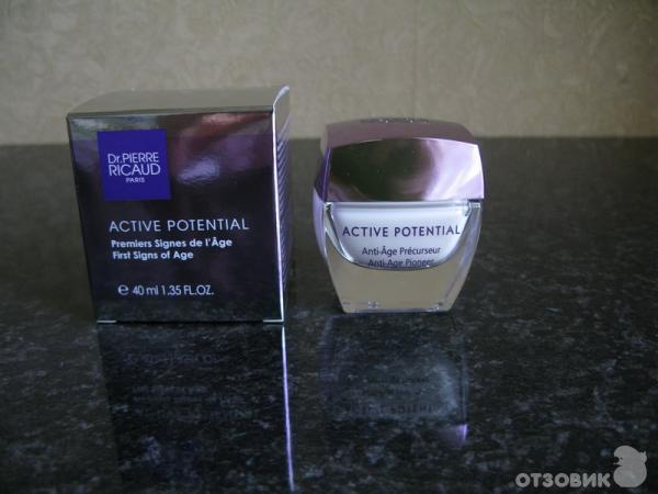 Отзыв о крем предупреждающий возрастные признаки dr.pierre ricaud active potential крем с восхитительным запахом.