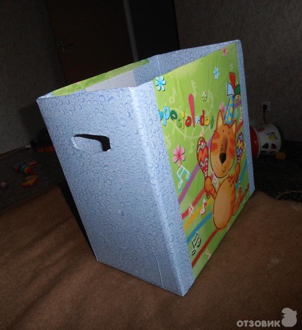 Коробки для хранения для детской своими руками 34