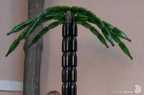 пальма из бутылок.