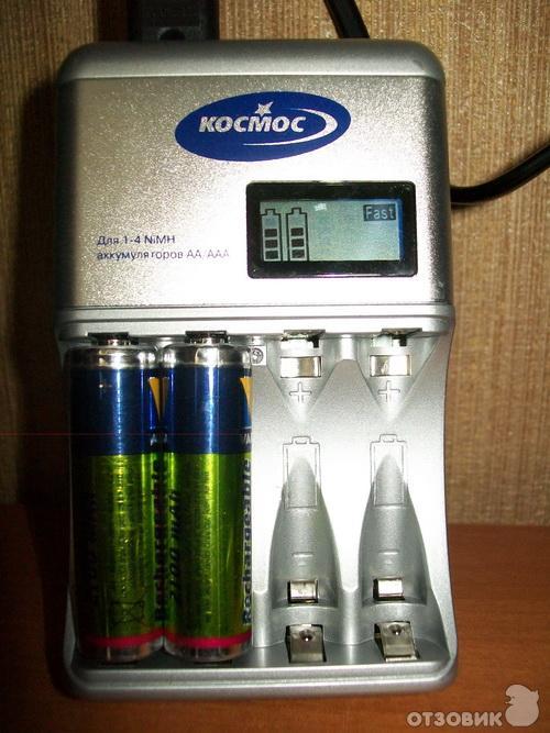 зарядное устройство для батареек космос инструкция - фото 11