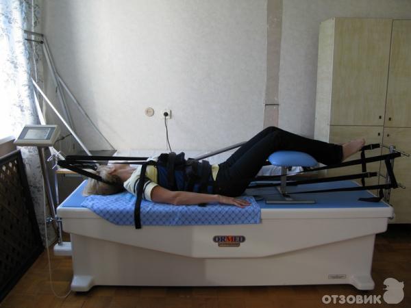 Вытяжение позвоночника на аппарате ормед показания