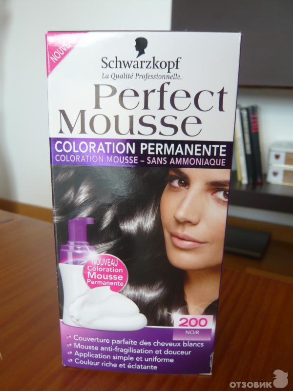Пенка-краска для волос