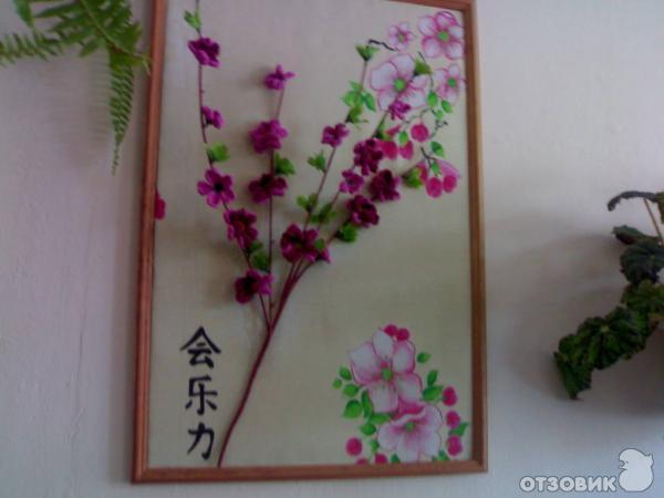 Картины своими руками сакура 86
