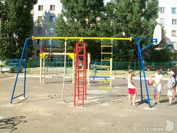 Сделать детскую спортивную площадку своими руками фото