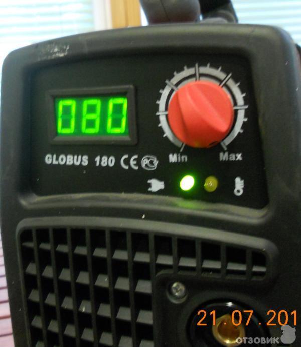 Отзыв: Сварочный инвертор BestWeld Globus 180 - Прибор вызывающий уважение.