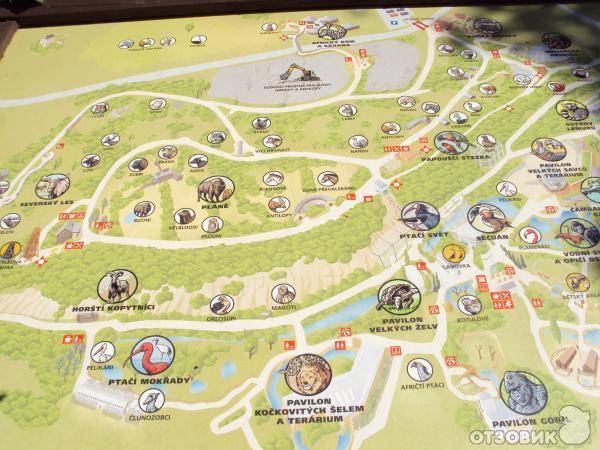 Пражский зоопарк (Чехия