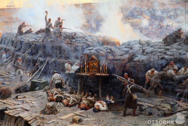 Севастополь.  Крымская война.  Первая оборона Севастополя 1854 -55 годы фото.