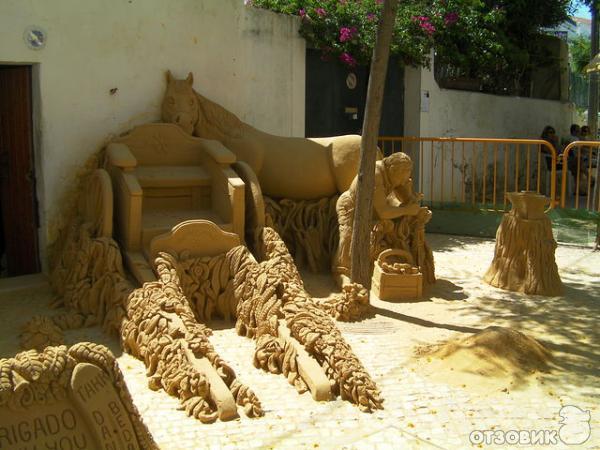 Незабываемые скульптуры из песка.
