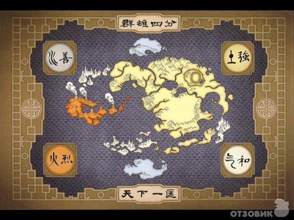 мультик аватар легенда об аанге: