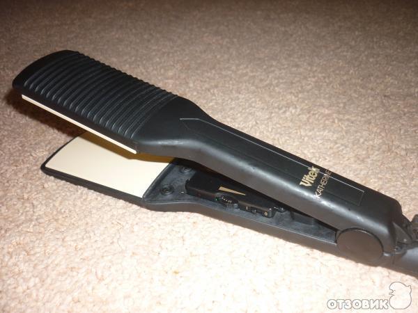 Утюжок широкий для волос