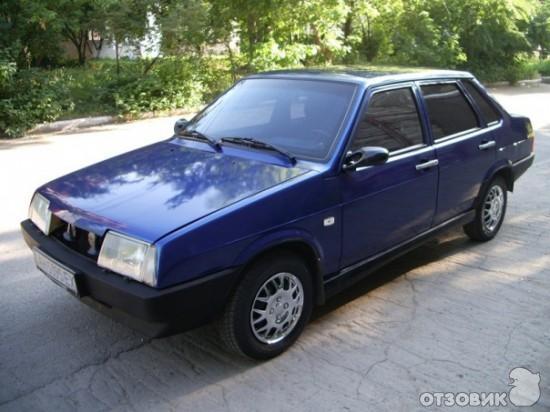 Отзыв о Автомобиль ВАЗ 21099 седан | Парни с района говорят))) ZA72