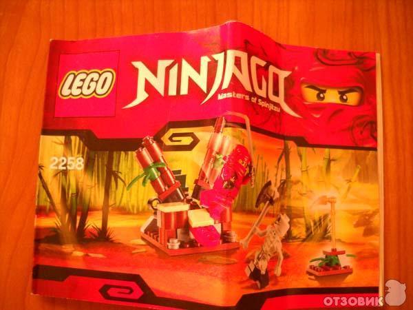 """Отзыв: Конструктор LEGO Ninjago  """"Засада """" - Для юных поклонников восточных единоборств) ."""