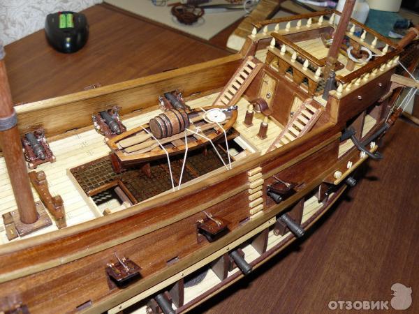 Модель корабля своими руками от а до я