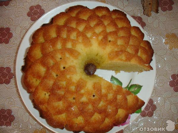 Испечь пирог в силиконовой форме