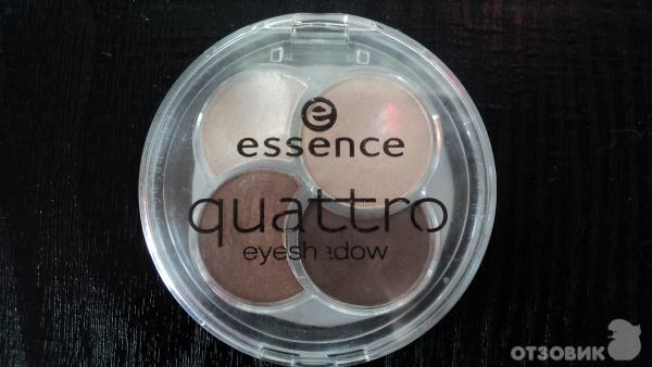 Набор теней для век essence quattro