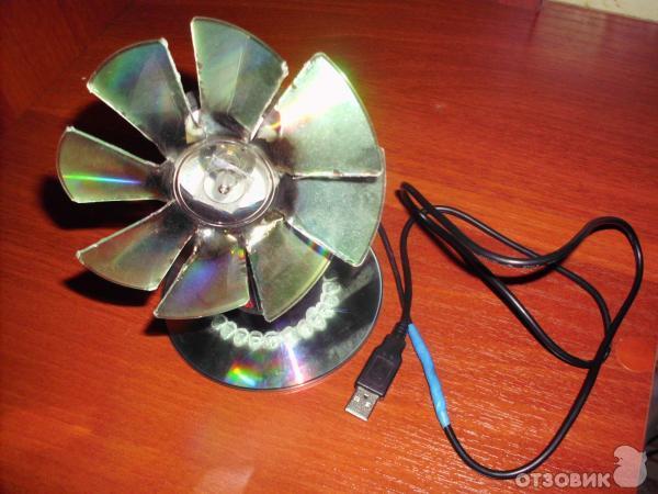 Usb-вентилятор своими руками