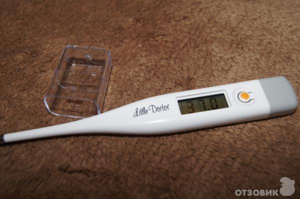 фото температура на градуснике