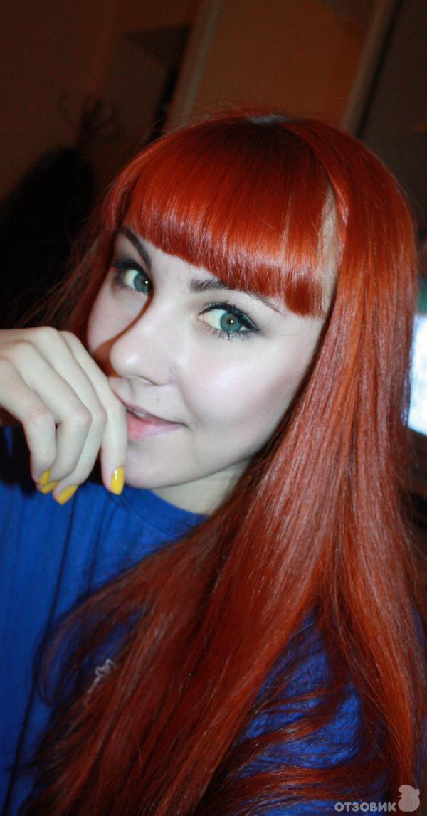 Красный янтарь тоника для волос цвет