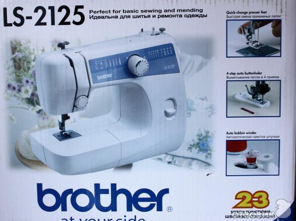 Ремонт швейной машинки brother ls 2125 своими руками