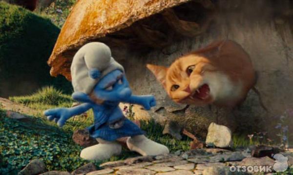 Гаргамель из смурфиков кот