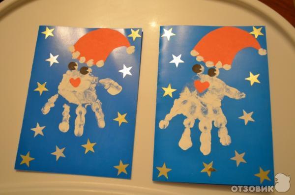 Новогодняя открытка своими руками фото