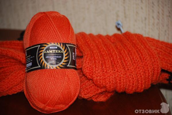 Пряжа для вязания камтекс аргентинская шерсть отзывы 12