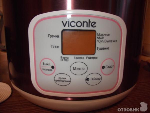 Рецепты на мультиварку viconte vc-601