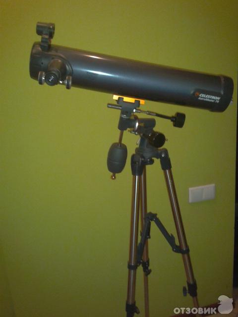 Отзыв: Телескоп Celestron Astromaster 76 EQ - Простой,компактный.