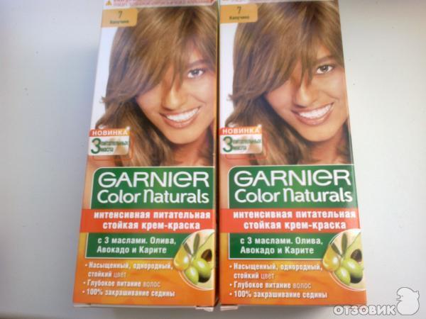 Краска для волос гарньер палитра цветов фото отзывы