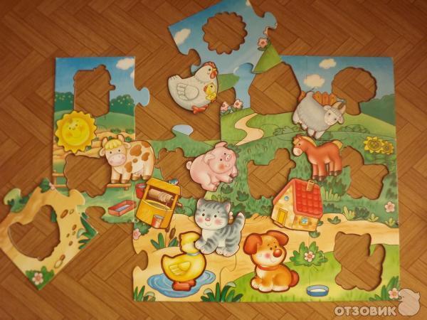 Отзыв: Мозаика для малышей В деревне - издательство Дрофа-Медиа - У этой