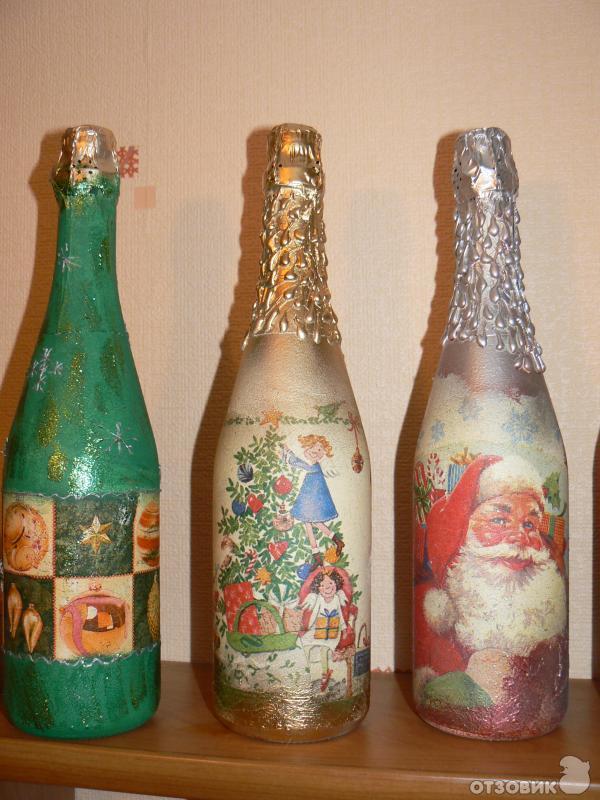 Творчество своими руками бутылки