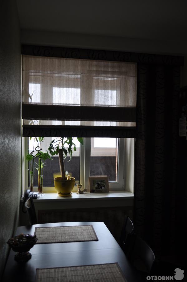 Отзыв о римские шторы идеальное решение для оформления окна .