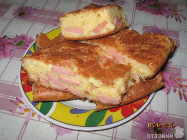 Рецепт пирога Конопатый фото