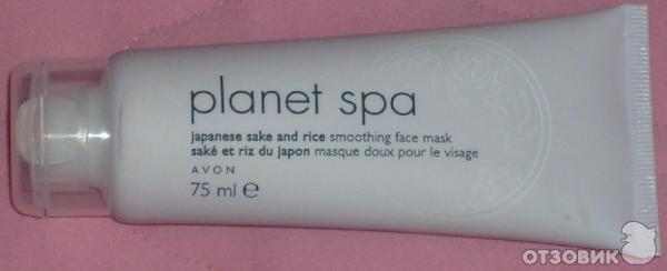 маска для лица от avon саке и рис