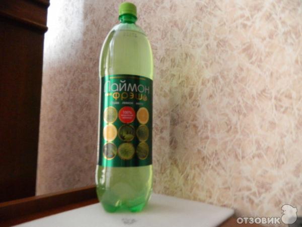 Лаймон фреш - газированный напиток фото.