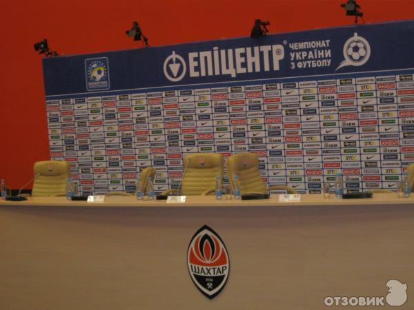 Футбольный стадион Донбасс Арена (Украина, Донецк) фото