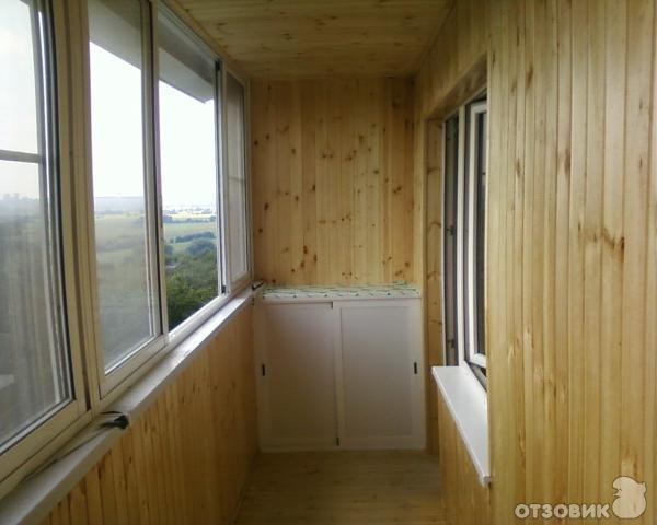 Холодное балконное остекление хрущевки. - окна из пластика -.