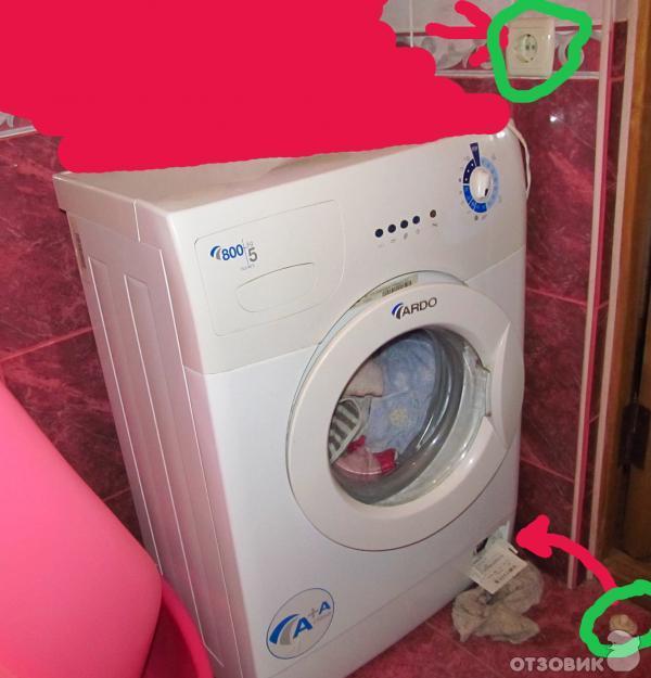 инструкция по эксплуатации стиральной машины ардо fls80e