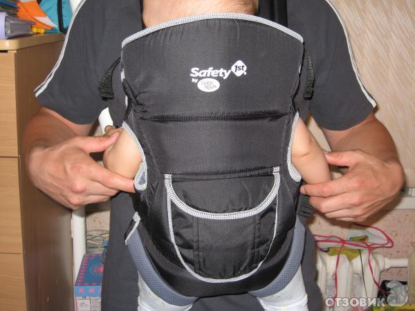 Такую модную и стильную сумку-кенгуру Safety by Baby Relax мы решили приобрести случайно. .